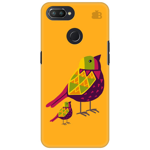 Mom Kid Bird Oppo RealMe 2 Pro Cover