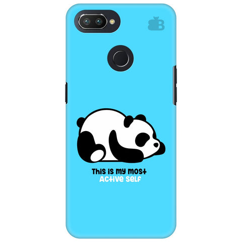 Most Active Panda Oppo RealMe 2 Pro Cover