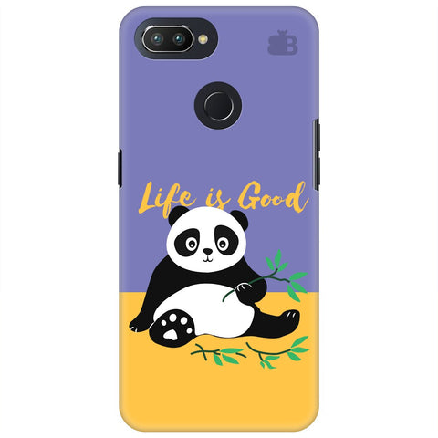 Panda Life is Good Oppo RealMe 2 Pro Cover