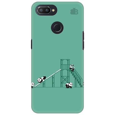 Pandas Playing Oppo RealMe 2 Pro Cover
