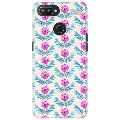 Pink Watercolor Pattern Oppo RealMe 2 Pro Cover