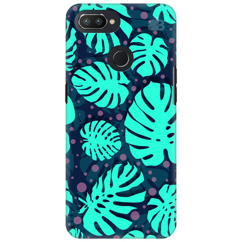 Tropical Leaves Pattern Oppo RealMe 2 Pro Cover