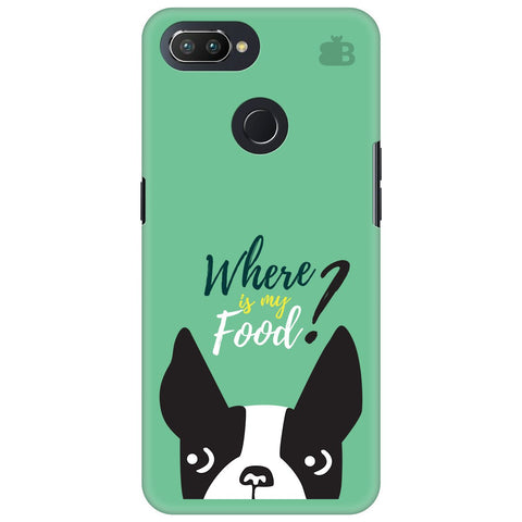 Where is my Food Oppo RealMe 2 Pro Cover
