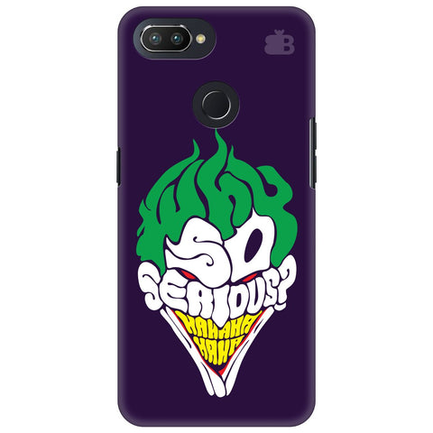 Why So Serious Oppo RealMe 2 Pro Cover