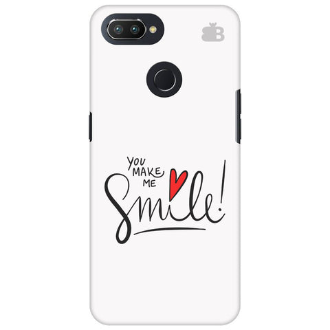 You make me Smile Oppo RealMe 2 Pro Cover