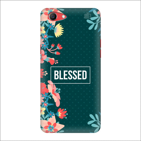 Blessed Floral Oppo Real Me1 Cover