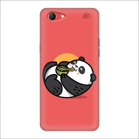 Panda eating Noodles Oppo Real Me1 Cover