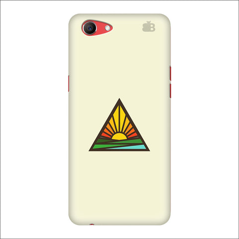 Triangular Sun Oppo Real Me1 Cover