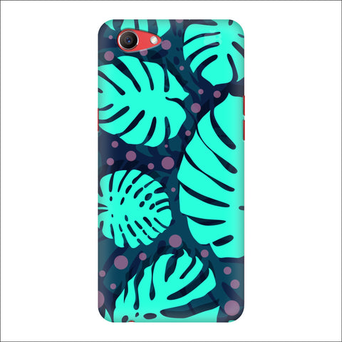 Tropical Leaves Pattern Oppo Real Me1 Cover