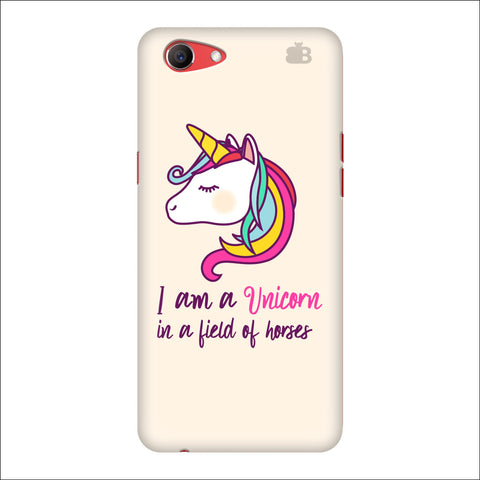 Unicorn in Horses Oppo Real Me1 Cover