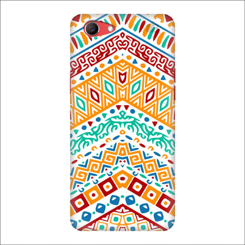 Wavy Ethnic Art Oppo Real Me1 Cover