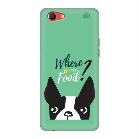 Where is my Food Oppo Real Me1 Cover