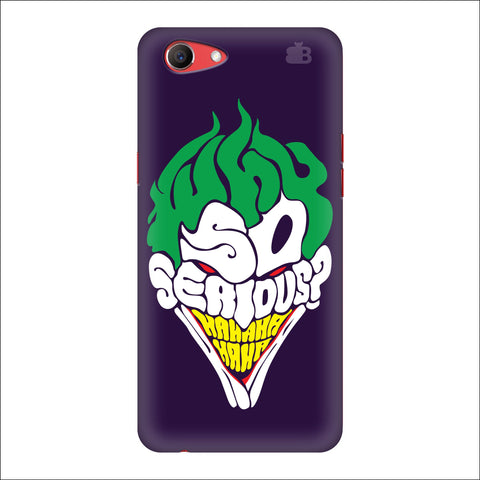 Why So Serious Oppo Real Me1 Cover
