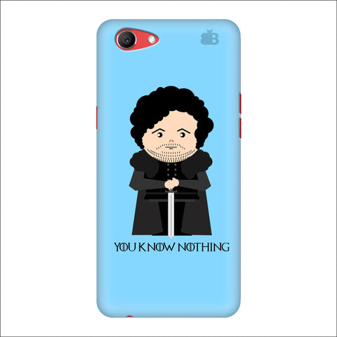 You Know Nothing Oppo Real Me1 Cover