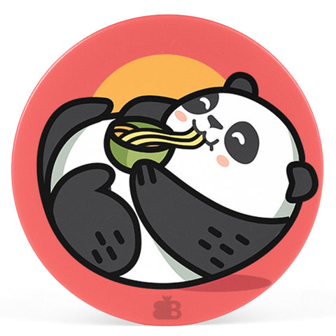 Panda eating Noodles Pop Holder