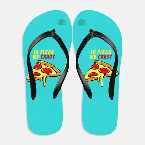 Pizza Crust Flip Flops
