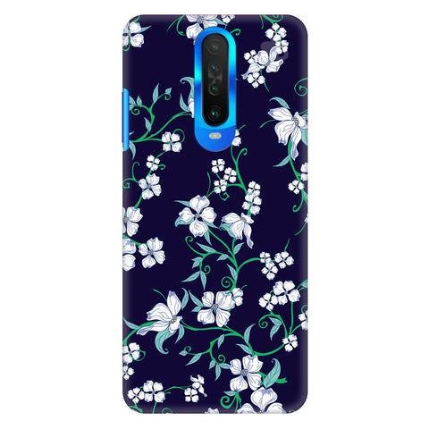 Dogwood Floral Pattern Poco X2 Cover