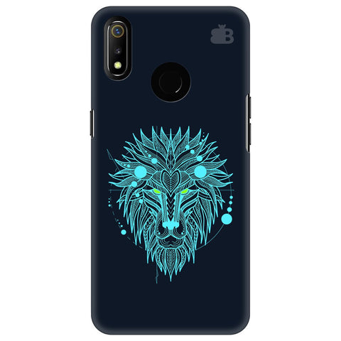 Abstract Art Lion Realme 3 Cover