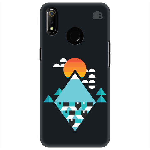 Abstract Mountains Realme 3 Cover