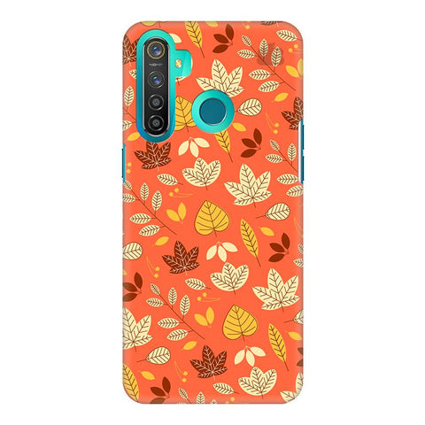 Cute Leaves Pattern Realme 5 Pro Cover