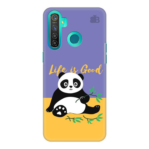 Panda Life Is Good Realme 5 Pro Cover