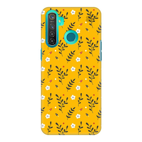 Summer Floral Pattern Realme 5 Pro Cover
