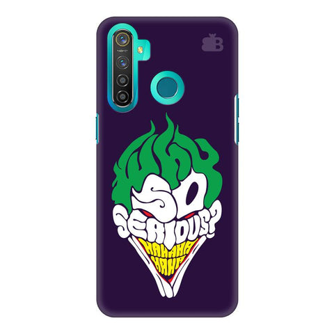 Why So Serious Realme 5 Pro Cover