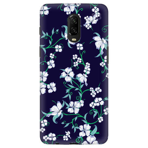 Dogwood Floral Pattern Realme 6 Cover