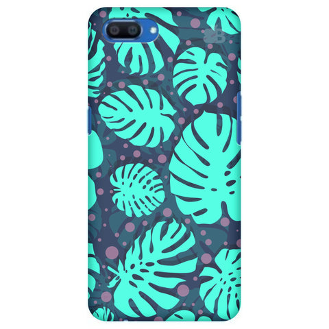 Tropical Leaves Pattern Realme A1 Cover