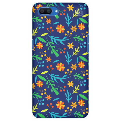 Vibrant Floral Pattern Realme A1 Cover