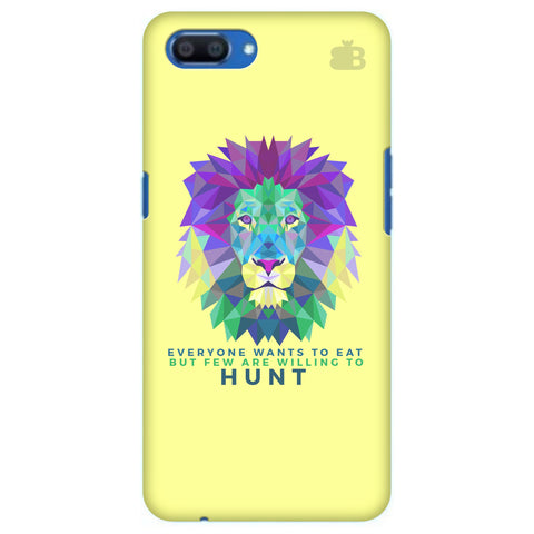 Willing to Hunt Realme A1 Cover