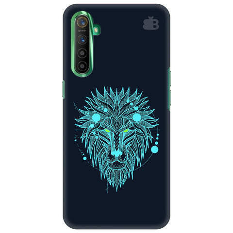 Abstract Art Lion Realme X2 Cover