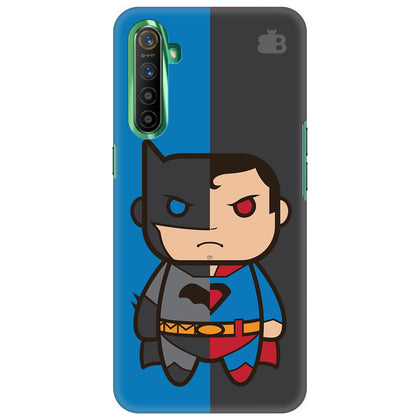 Cute Superheroes Annoyed Realme X2 Cover