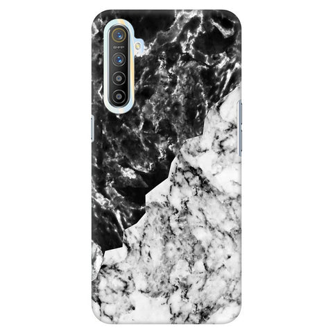 Black White Marble Realme Xt Cover