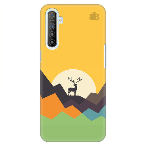 Deer In Mountains Realme Xt Cover