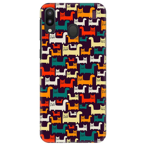 Chill Cats Samsung Galaxy M20 Cover