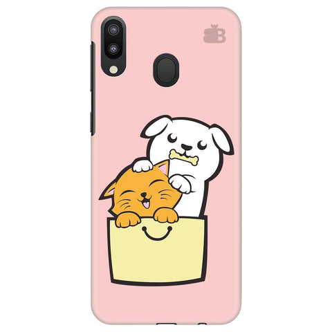 Kitty Puppy Buddies Samsung Galaxy M20 Cover