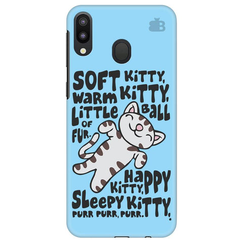 Soft Kitty Samsung Galaxy M20 Cover