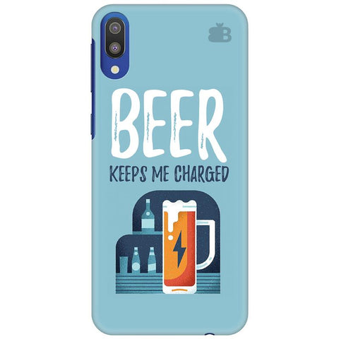 Beer Charged Samsung Galaxy M10 Cover