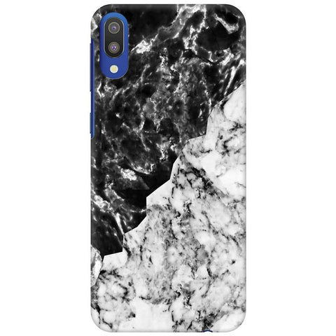 Black White Marble Samsung Galaxy M10 Cover