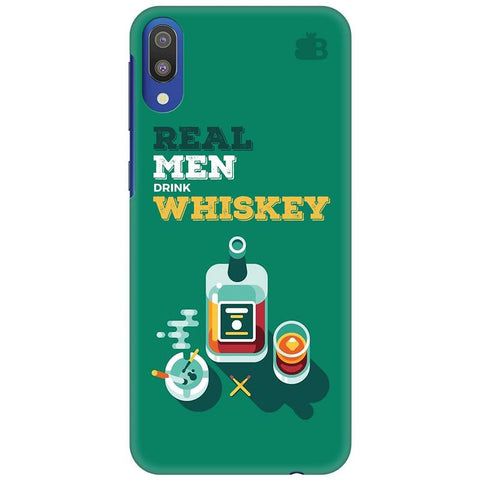 Men and Whiskey Samsung Galaxy M10 Cover