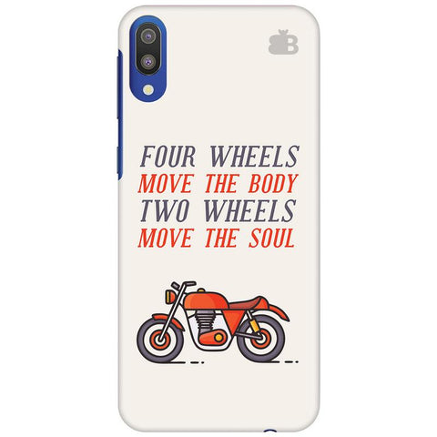 Motorcyclist Samsung Galaxy M10 Cover