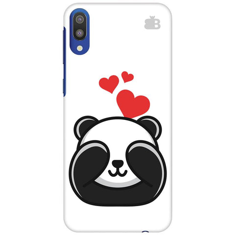 Panda In Love Samsung Galaxy M10 Cover