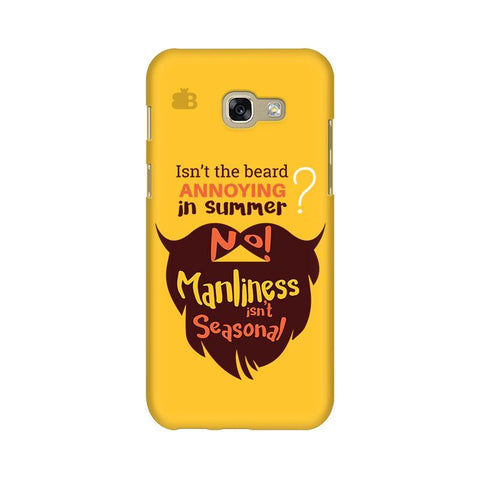 Beard Brown Samsung A5 2017 Phone Cover