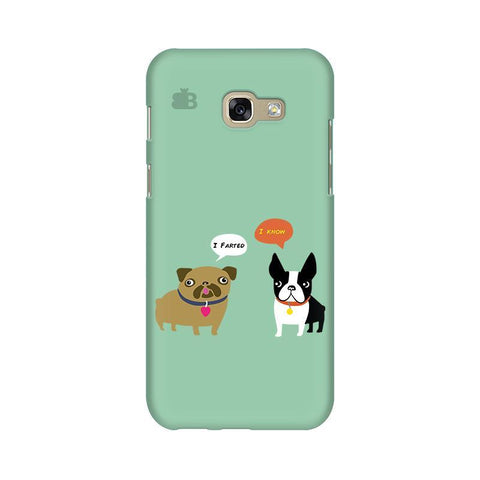 Cute Dog Buddies Samsung A5 2017 Phone Cover