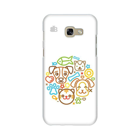 Cute Pets Samsung A5 2017 Phone Cover