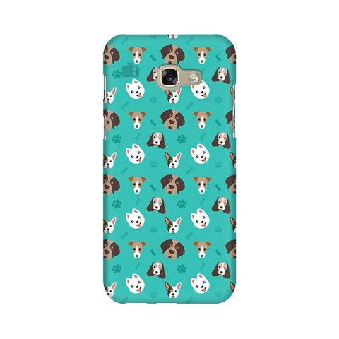Doggie Pattern Samsung A5 2017 Phone Cover