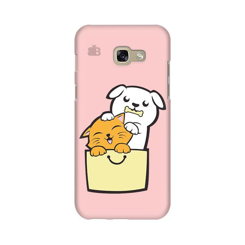 Kitty Puppy Buddies Samsung A5 2017 Phone Cover