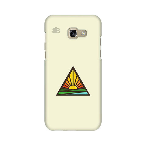 Triangular Sun Samsung A5 2017 Phone Cover