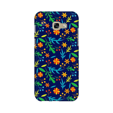 Vibrant Floral Pattern Samsung A5 2017 Phone Cover